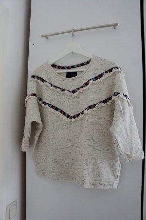 Boho-Pullover mit Fransen