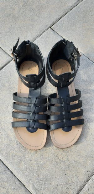 Mark Adam Roman Sandals black