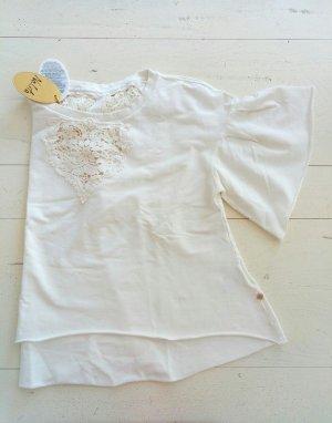 Boho Shirt mit Spitze - 3/4 arm von Nolita