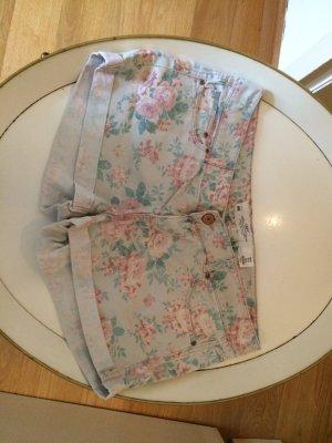 Boho Shorts Blumenprint H&M Zara