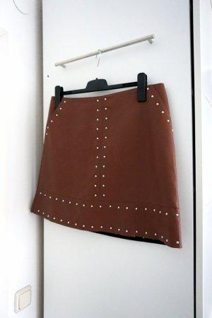 Boho-Skirt mit Nieten