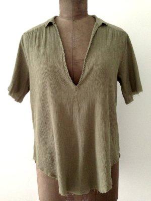 Boho Style Bluse von Zadig & Voltaire, Gr. M, passt Gr. 38-42