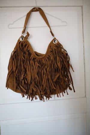 Boho Tasche mit Fransen