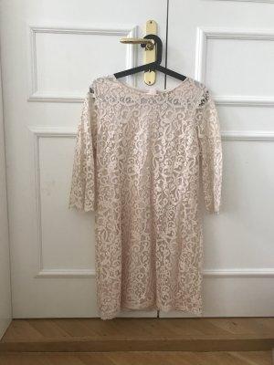 H&M Midi-jurk licht beige-rosé