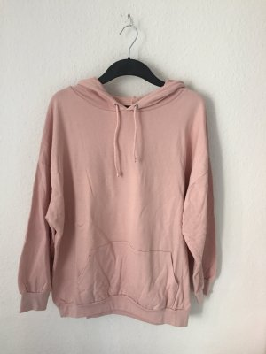Bohoo About you Kapuzenpullover Rosa