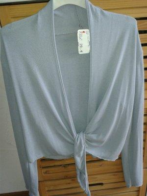 Made in Italy Boléro gris clair tissu mixte