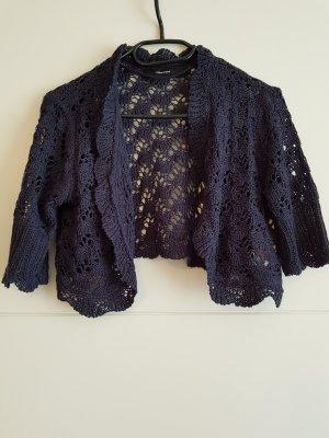 Vero Moda Knitted Bolero dark blue