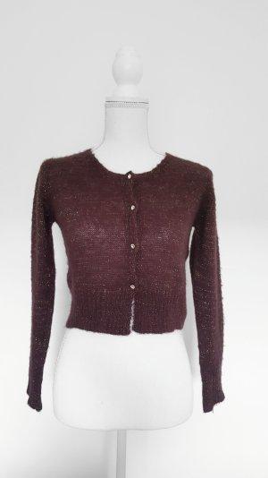 Motivi Knitted Bolero purple