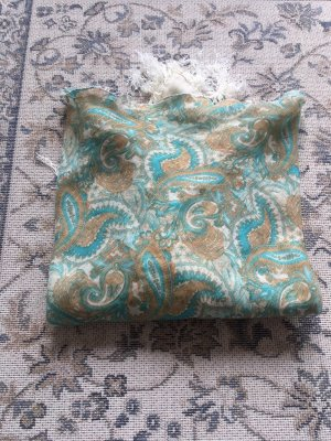 H&M Veil cornflower blue cotton