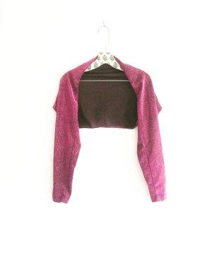 bolero / dancewear / armwear / vintage / lurex / fuchsia / magenta / erika / granny