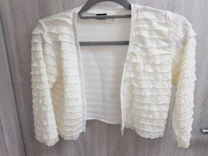 Bodyflirt Bolero bianco-crema