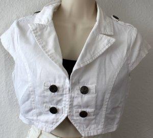 Bolero white cotton