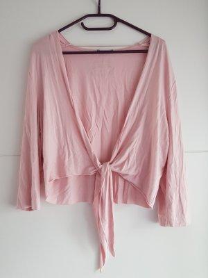 Taifun Bolero rosa chiaro Cotone