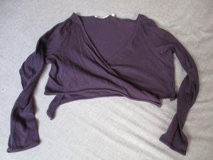 Tom Tailor Bolero lavorato a maglia viola scuro Cotone