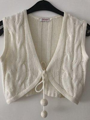 Orsay Gilet tricoté beige clair