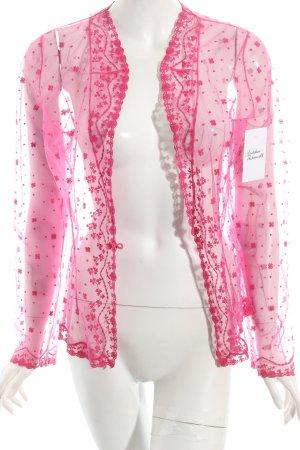Bolero pink extravaganter Stil