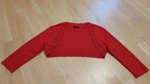 Zero Bolero brick red-red synthetic fibre