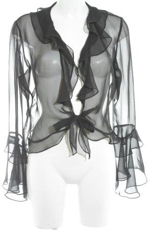 Bolero zwart simpele stijl