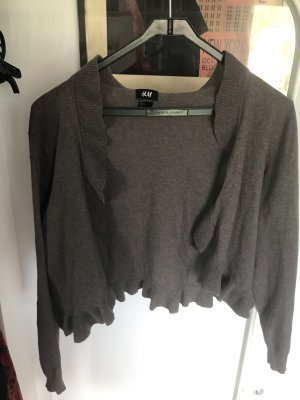 Hennes Collection by H&M Knitted Bolero grey brown