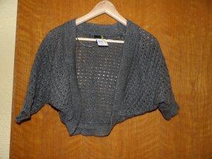 H&M Bolero lavorato a maglia grigio