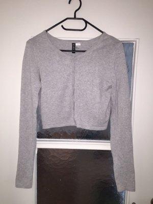 Bolero Strickjacke H&M Größe S Grau