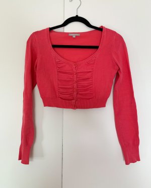 3 Suisses Knitted Bolero bright red-magenta
