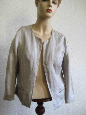 Bolero von Promod in Grau, mit silbrigem Schimmer - casual Look