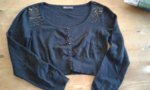 Melrose Bolero lavorato a maglia nero
