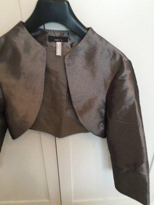 Short Blazer grey polyester