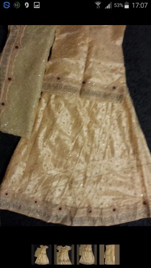 Bollywood Kleid(Lehnga) 3teilig