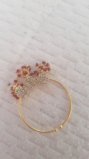 no name Earring gold-colored