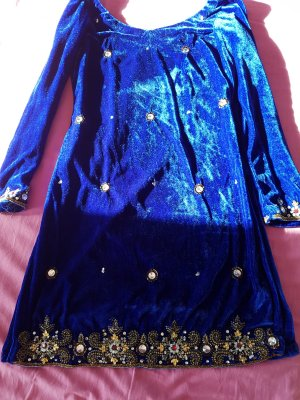 bollywood samt indisches salwar