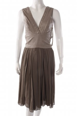 Bolongaro Trevor cocktail dress with leather lined