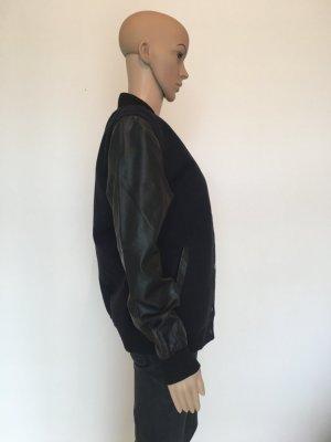 Atmosphere College Jacket black-dark blue