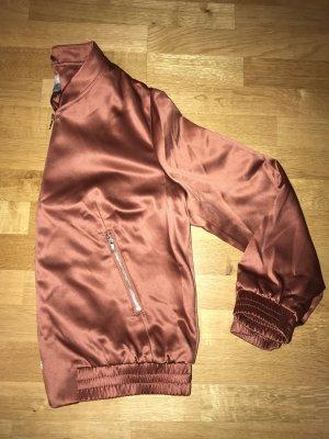H&M Giacca bomber ruggine-marrone-rosso