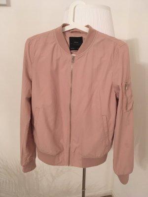 Bomber Jacke rosa von Zara