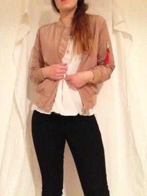 Bomber Jacket beige/mocha