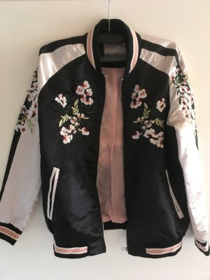 Vero Moda Bomberjack zwart-roze