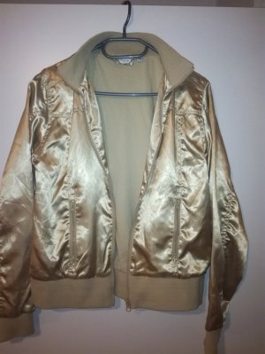Bomber Jacket gold-colored