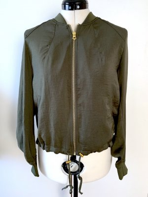 H&M Divided Giacca bomber cachi Poliestere