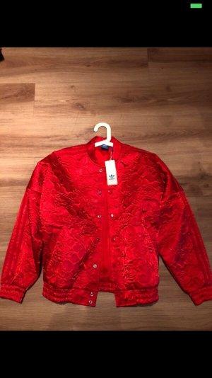 Adidas Bomber Jacket red