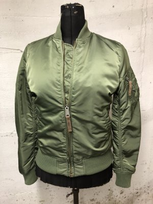 Alpha Industries Bomber Jacket olive green-orange