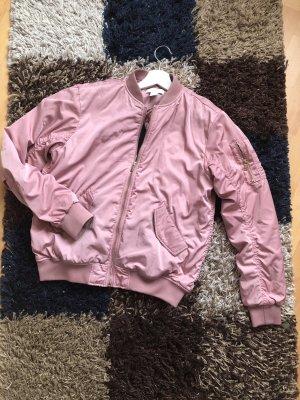 H&M Chaqueta bomber rosa