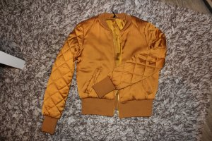 Balmain for H&M Blouson aviateur orange doré