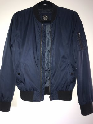 C&A Bomber Jacket black-dark blue