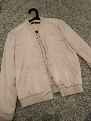 Zara Giacca bomber rosa pallido