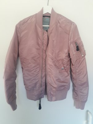Alpha Industries Giacca bomber color oro rosa