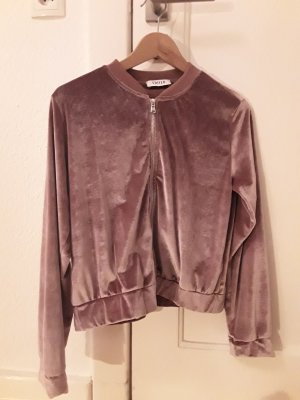 Edited Bomber Jacket pink mixture fibre