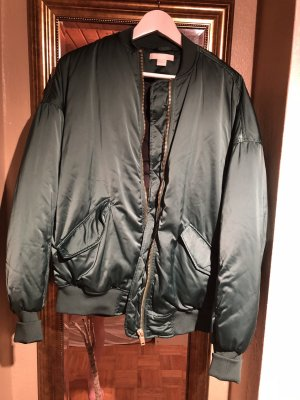 H&M Bomber Jacket forest green