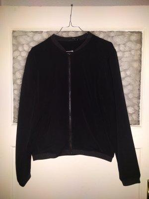 Only Bomberjack zwart Polyester